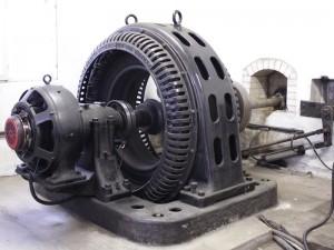 Vakkolan vanha generaattori